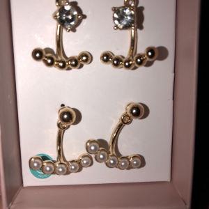 2 ζευγάρια σκουλαρίκια