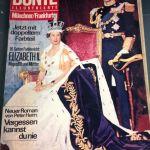 Με εξώφυλλο την Αγγλική βασιλικη οικογενεια 5 Περιοδικα γερμανικά Bunte του 60