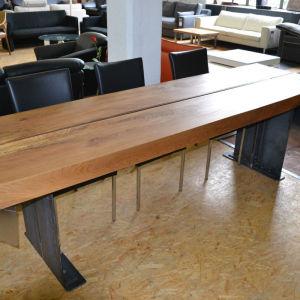 Μοναδικό χειροποίητο τραπέζι από μασίφ ξυλεία 2,70 Χ 1,00 Χ 0,05 μέτρα