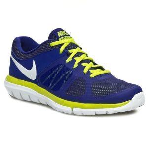 Nike Flex 2014 Run 'Deep Royal Blue Venom Green'