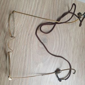 Γυαλιά αντικέ χρυσά gold plated