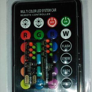 RGB LED T10 12V ΓΙΑ ΑΥΤΟΚΙΝΗΤΑ ΚΑΙ ΜΗΧΑΝΕΣ