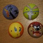4 λαστιχενια παιχνιδακια