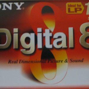 SONY VIDEO TAPE 90 DIGITAL 8