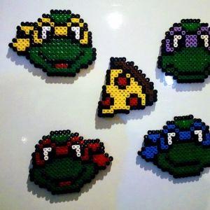 Χελωνονιντζάκια - Teenage Mutant Ninja Turtles: Michelangelo - Donatello - Raphael - Leonardo + Pizza