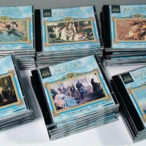 Συλλογή 43 CD κλασικής μουσικής