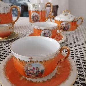 Σερβίτσιο αντίκα για καφέ και τσάι