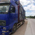 Φορτηγό με ρυμουλκα 40τ με Άδεια ΔΧ