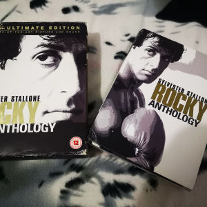 Rocky Anthology 6 DVD Box Set σπάνιο συλλεκτικό