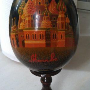 Ρωσικο διακοσμητικο Αυγο ζωγραφισμενο στο χερι !!!