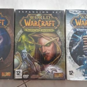 World Of Warcraft (classic,burning crusade, wrath of the lich king)