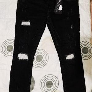 αφόρετο παντελόνι μαυρο