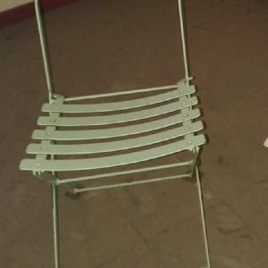 Καρέκλες μεταλλικές τύπου Ζαππείου
