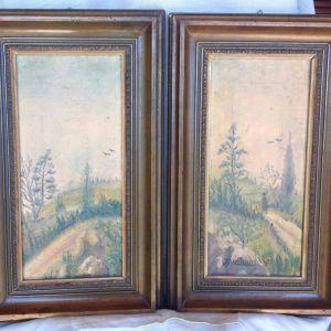Πίνακες ελαιογραφίες του Ι. Φιωτάκη