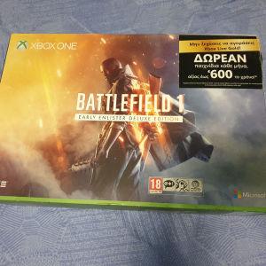 Xbox one s 1tb Battlefield 1 edition σε άριστη κατάσταση