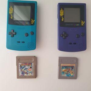 Gameboy  colour  + Games!