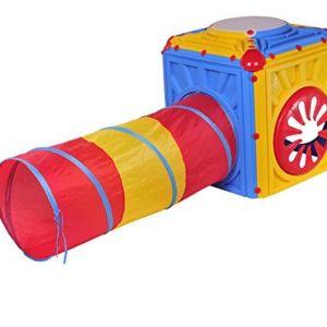 Activity Cube- Παιδικός κύβος δραστηριοτήτων με τούνελ