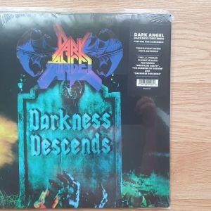 Dark Angel - Darkness Descends Ltd to 500 copies, Reissue, Green SEALED!!!