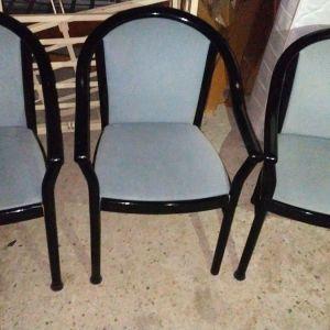 Σετ 3 καρέκλες μασίφ.Δυν.Μεταφορας