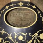 Πωλείται μαντολίνο αντίκα 110 ετών του Σταθοπουλου