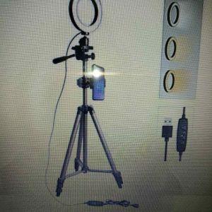 Φωτιστικό Δαχτυλίδι Ring Lamp Light για τέλειο αποτέλεσμα σε Βίντεο-φώτογραφιες -Μακιγιάζ make up artist