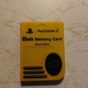 PLAYSTATION 2 MEMORY CARD