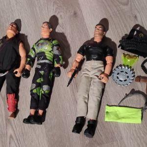 Πωλούνται Action Man Κούκλες και Αξεσουάρ   90-2000's 