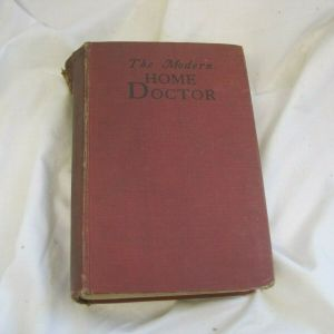 RARE Antique HARDBACK BOOK - The MODERN HOME DOCTOR First  Edition   1935
