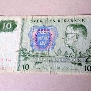 Χαρτονόμισμα Σουηδίας