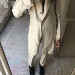 Κοστούμι μπεζ Λινομεταξο - Rococo