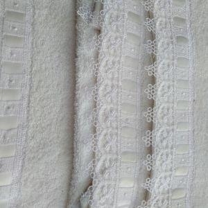 σετ πετσέτες 3 τμχ λευκές