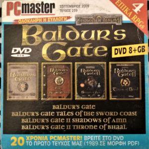 Πωλούνται τα 4 RPG παιχνίδια BALDUR'S GATE για PC σε 1 DVD-ROM