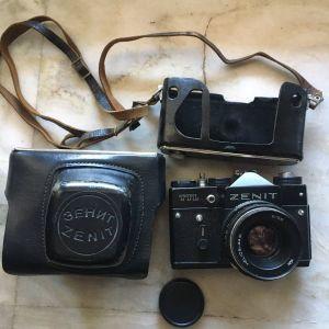 Φωτογραφική μηχανή (ZENIT MADE in USSR) TTL Λειτουργεί άριστα!
