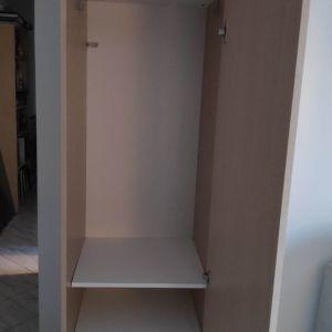 Πωλούνται 2 ντουλάπες μονόφυλλες σε χρώμα δρυς και βέγκε από μελαμίνη 16mm υψηλής ποιότητας και αντοχής. ΔΙΑΣΤΑΣΕΙΣ: 48x50x240. Τιμή 50 ευρώ έκαστη.