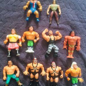 10 Φιγούρες 8 WWF 1 μονομάχος και 1 Ηρακλής (πακέτο)