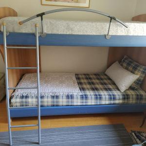 Ξύλινο κρεβάτι - κουκέτα Neoset