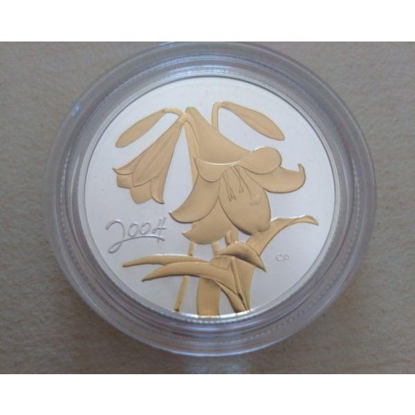 asimenio nomisma kanada 2004 Easter Lily