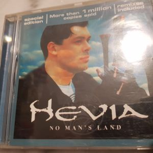 "HEVIA – ""No man's land"" (Hispavox) folk/new age/pop (special edition remixes included!!!)"