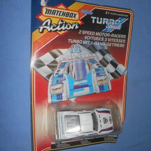 MATCHBOX ACTION TURBO SPECIALS TS-6 MARTINI RACING LANCIA RALLY (1986)