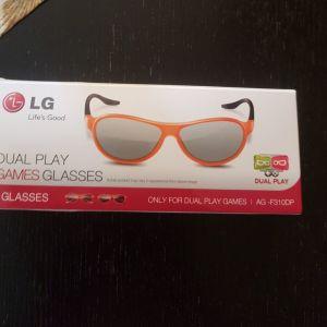 LG 3D Dual Play Games Glasses και 3D GLASSES LG CINEMA.