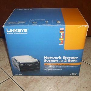 LinkSys NAS200 Ολοκαίνουριο