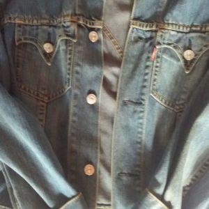 Levi Strauss & Co Mens Denim Jean Jacket