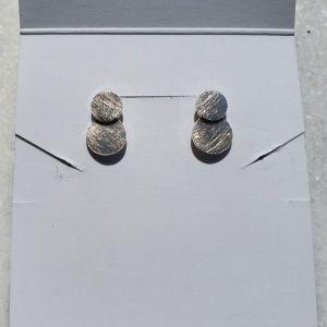 Σκουλαρίκια από Σφυρήλατο Ασήμι 925