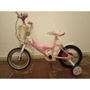 """ροζ ποδήλατο παιδικό 14"""""""