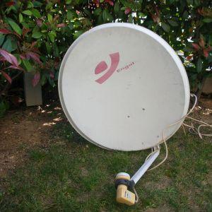 Δορυφορικό κάτοπτρο (πιάτο)