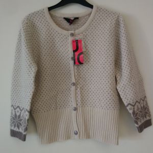πουλόβερ για κορίτσια  10-12 ετών με κουμπιά καινούργιο