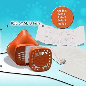 Παιδική μάσκα προστασίας small (κατάλληλη για ηλικία 4-8 ετών)