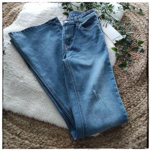 [ ΤΖΙΝ ] Flare Jeans [ SMALL ] με ταμπελακι
