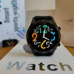Smartwatch καινούργιo με δυνατότητα συνομιλίας, custom watchfaces(βίντεο στην περιγραφή)