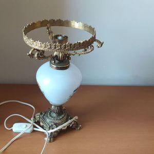 Vintage επιτραπέζιο φωτιστικό((χωρις λαμπογυαλι)